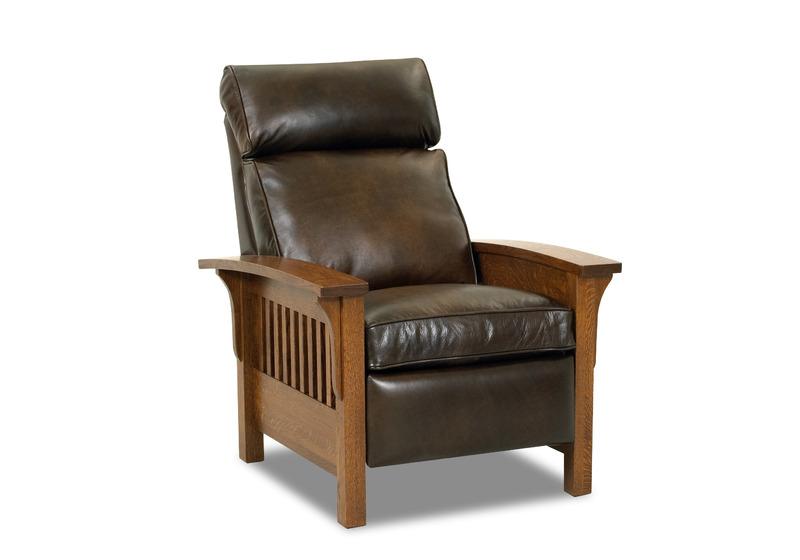 Awe Inspiring Mission High Leg Reclining Chair Ohio Hardwood Furniture Alphanode Cool Chair Designs And Ideas Alphanodeonline