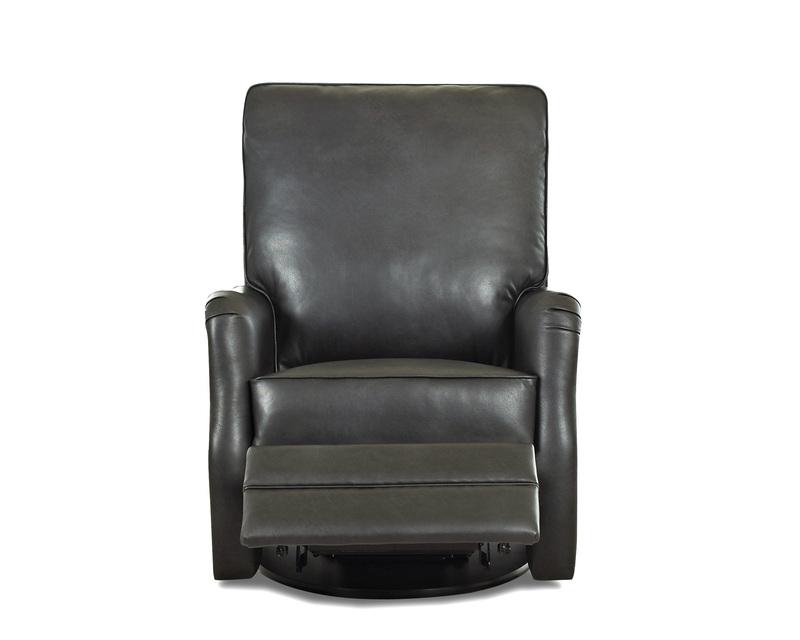 Randolph Swivel Reclining Chair Ohio Hardwood Furniture