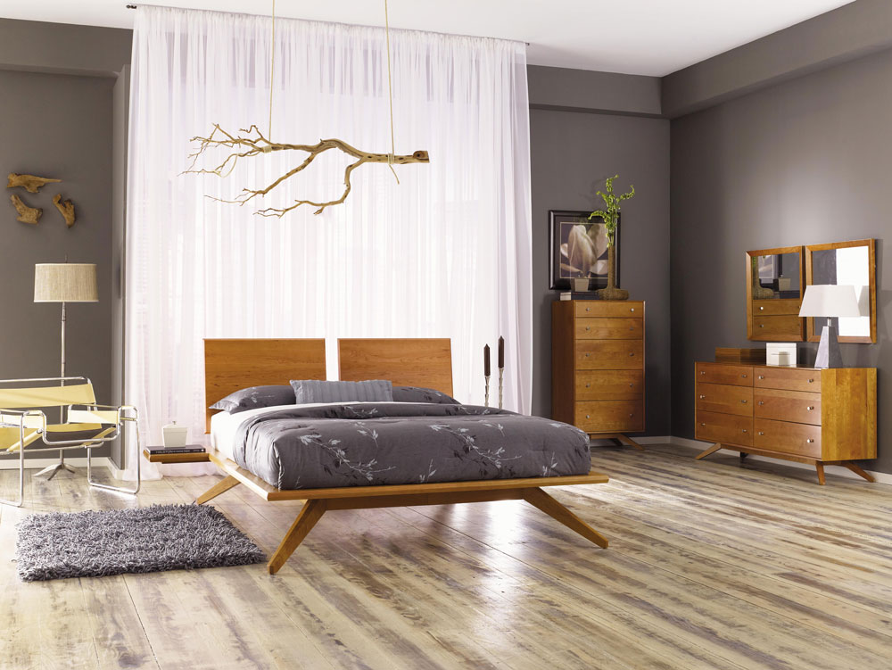 Astrid Bedroom Collection in Cherry