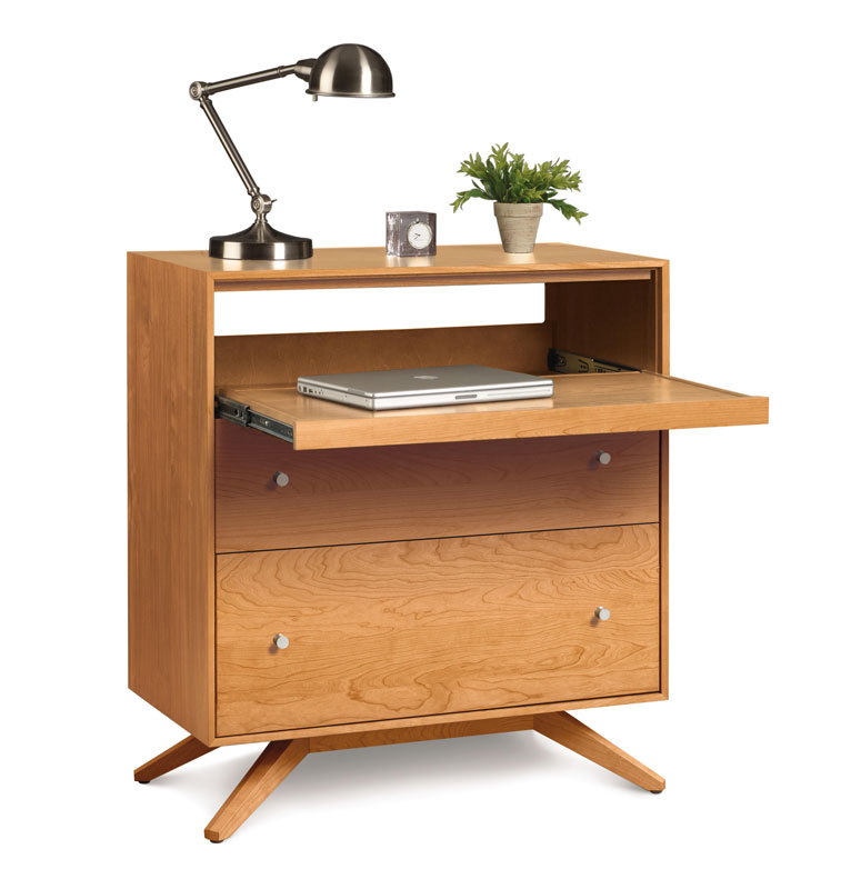 Copeland Astrid Laptop Desk in Cherry