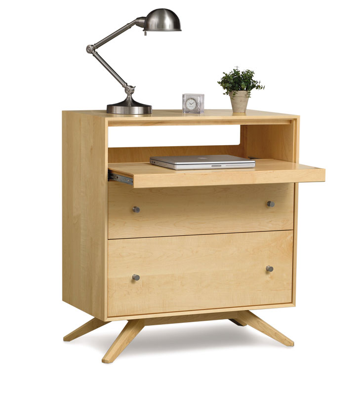 Copeland Astrid Laptop Desk in Maple
