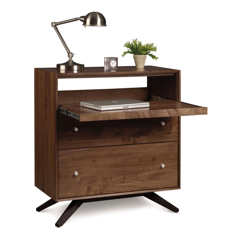 Copeland Astrid Laptop Desk in Walnut