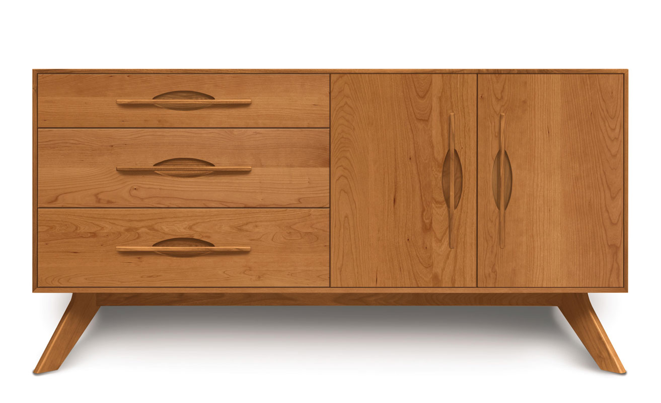 Copeland Audrey 3 Drawers on Left, 2 Doors on Right Buffet in Cherry