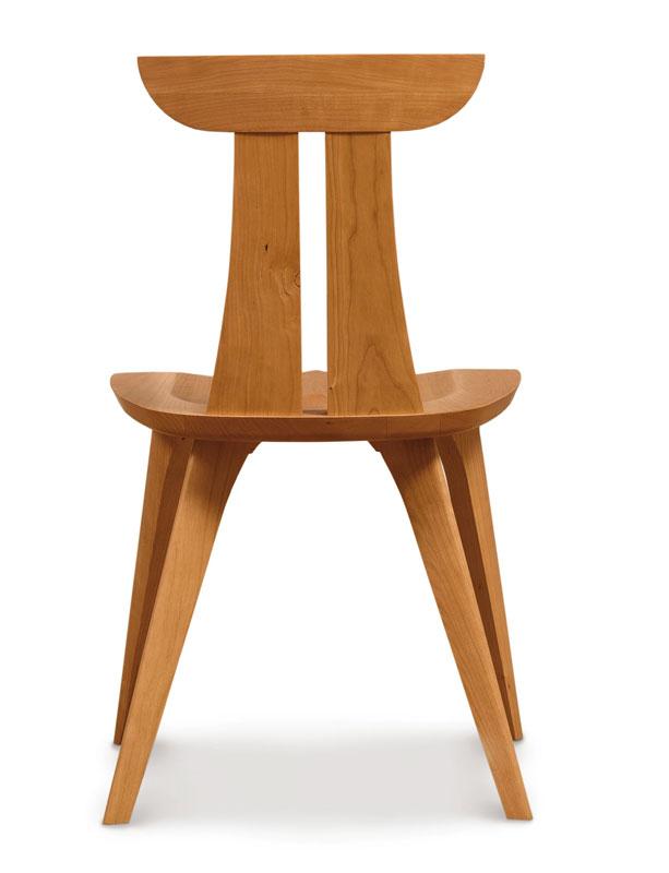 Copeland Estelle Side Chair In Cherry Ohio Hardwood