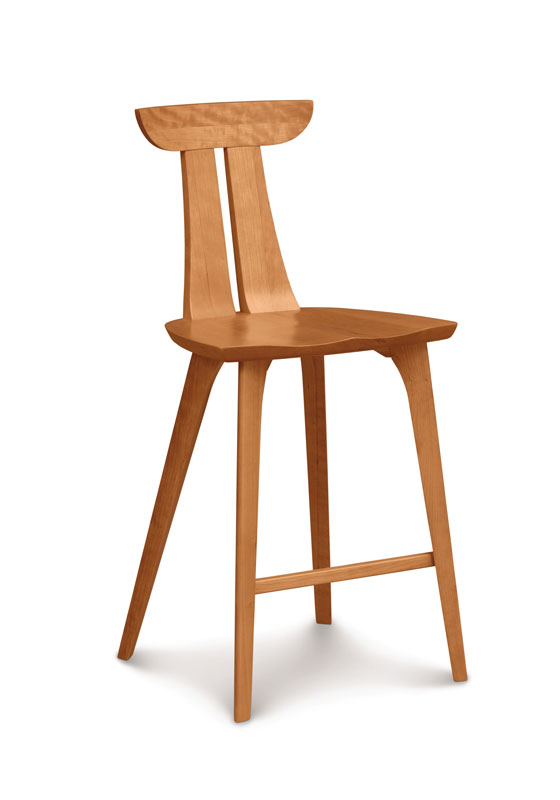 Copeland Estelle Counter Stool in Cherry