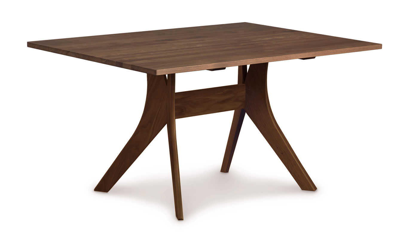 Copeland Audrey Fixed-Top Table in Walnut
