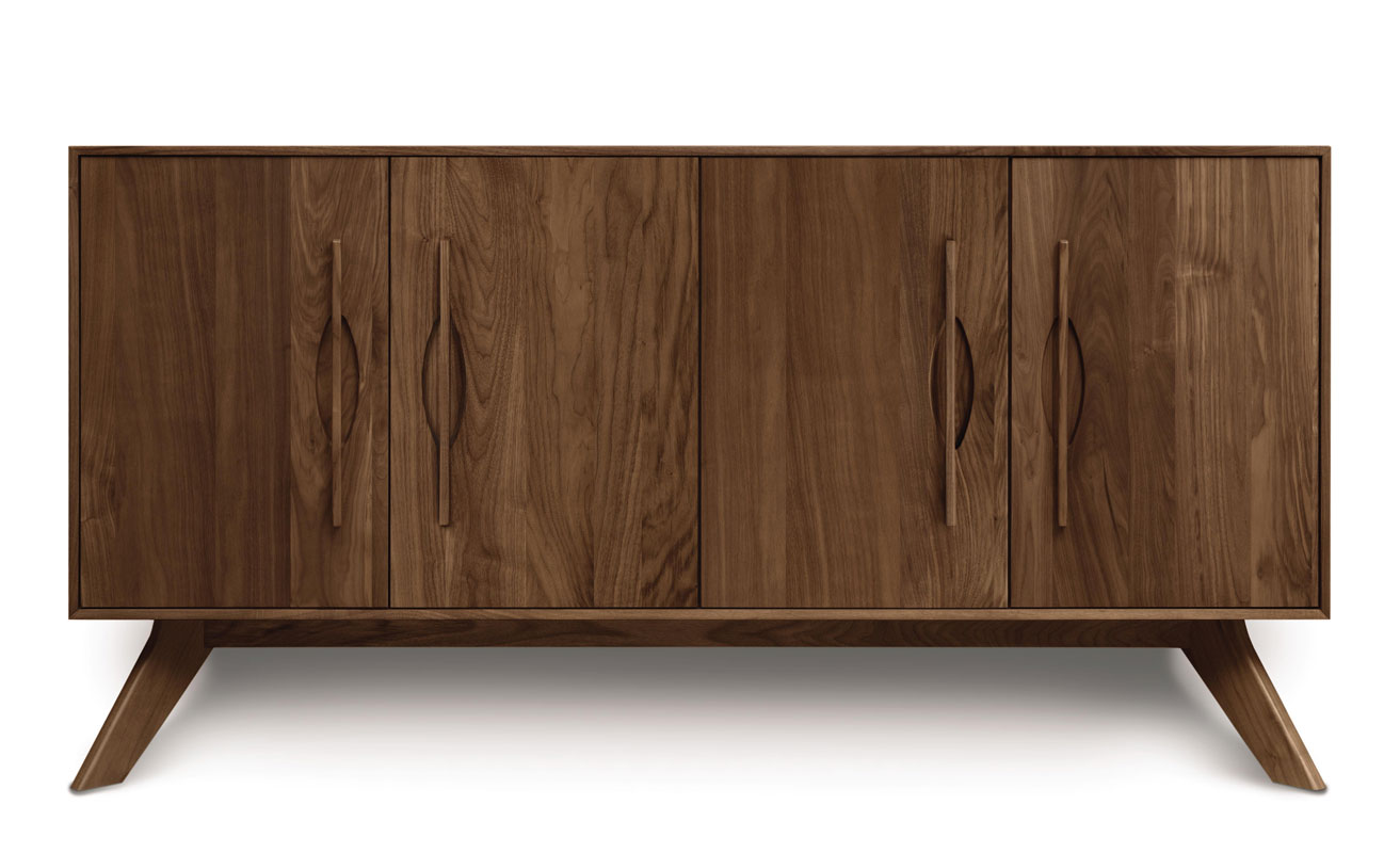 Copeland Audrey 4 Door Buffet in Walnut