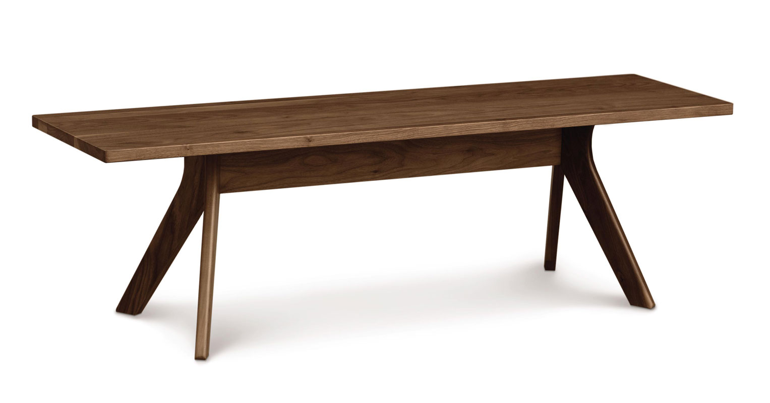 Copeland Audrey Bench in Walnut