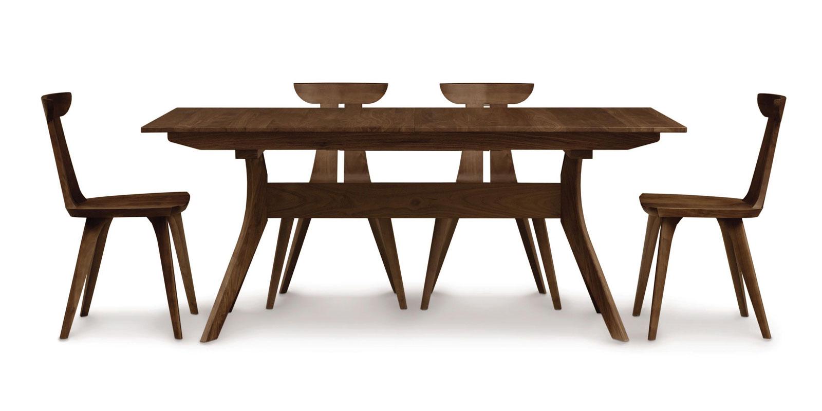 Copeland Audrey Extension Table In Walnut Ohio Hardwood