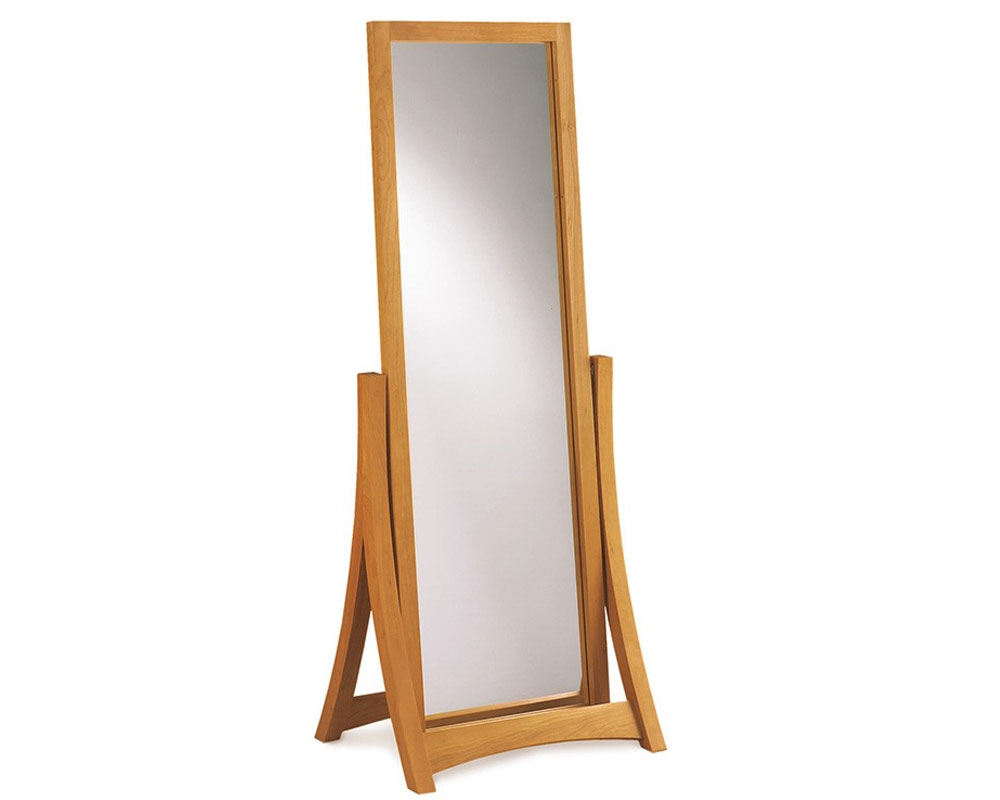 Copeland Berkeley/Monterey Floor Mirror in Cherry