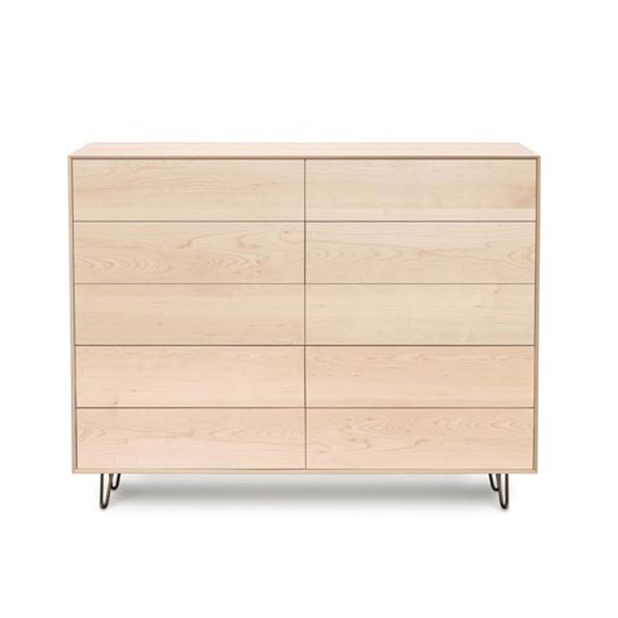 Copeland Canvas 10 Drawer with Push to Open Drawers