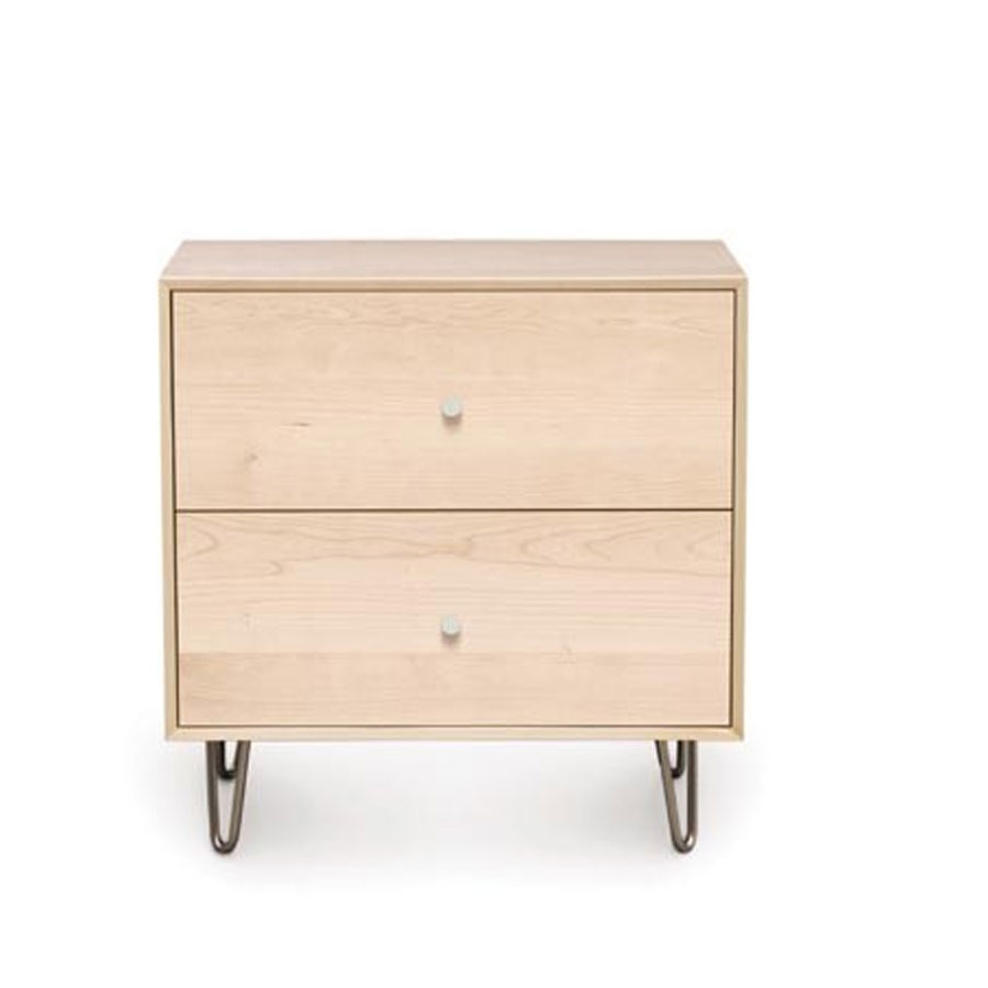 Copeland canvas 2 drawer with soft close self close drawers for Bedroom furniture soft close drawers