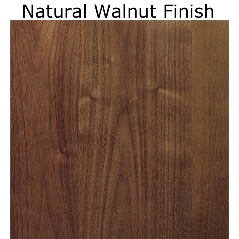 Natural Walnut Finish