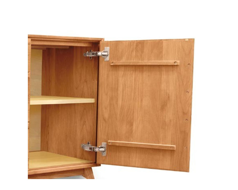 Copeland  Catalina 1 Door on Either Side of 3 Drawers Open