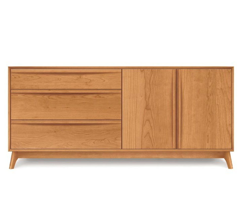 Copeland Catalina 3 Drawers on Left, 2 Doors on the Right Buffet in Cherry