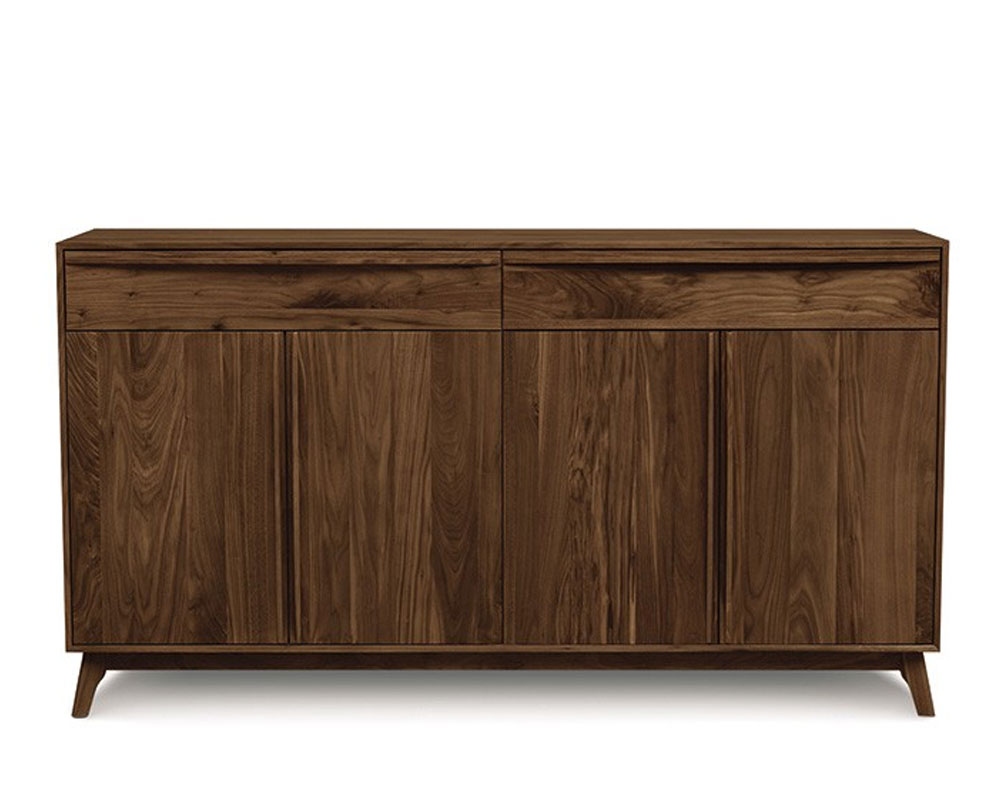 Copeland Catalina 2 Drawers Over 4 Doors Buffet in Walnut