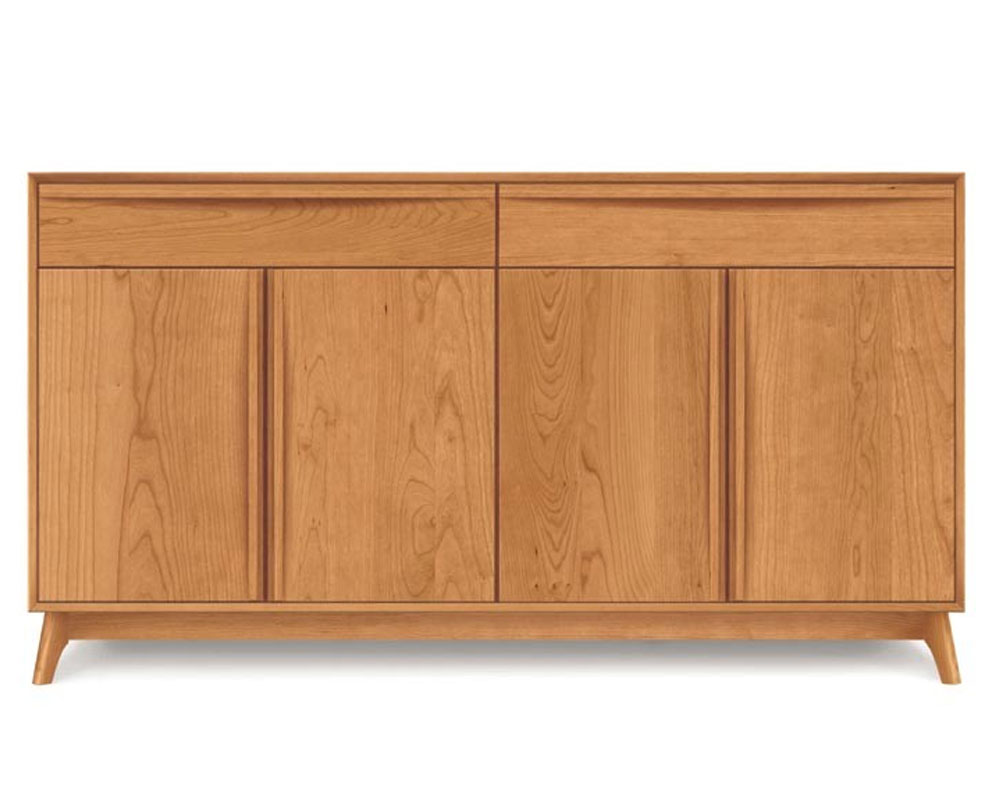Copeland Catalina 2 Drawers Over 4 Doors Buffet in Cherry