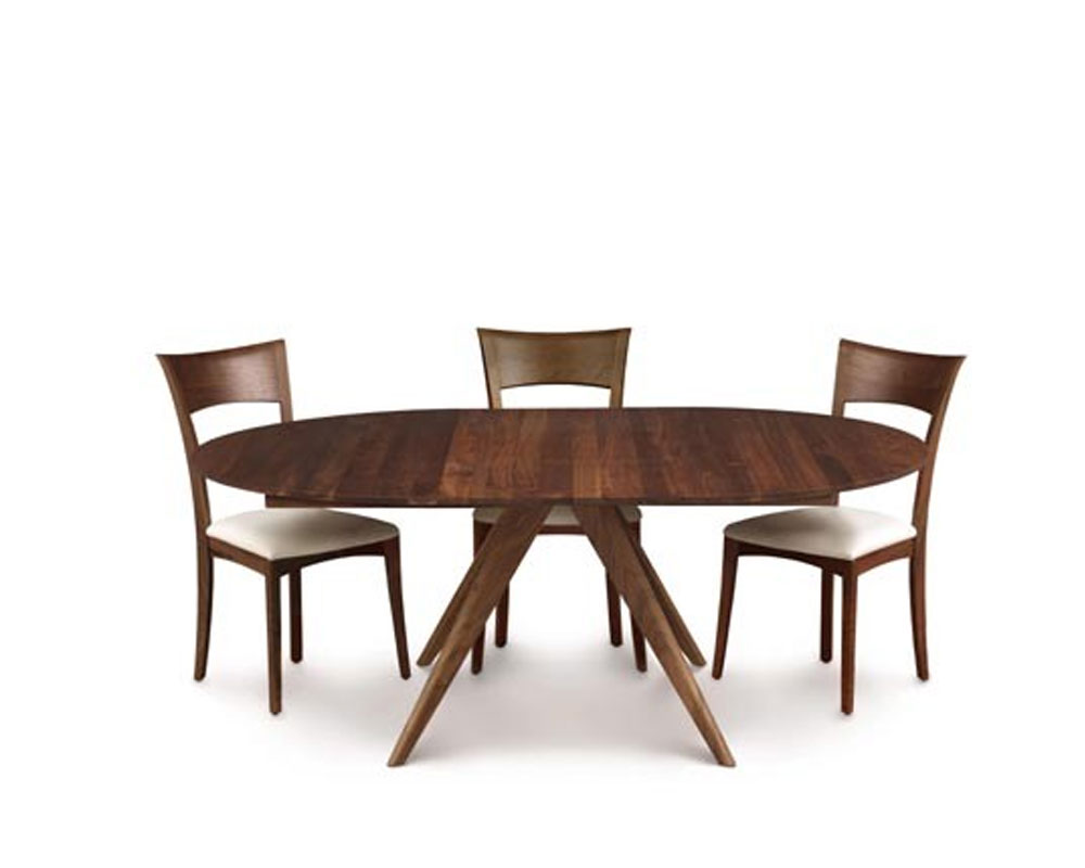 Copeland Catalina Round Extension Tables In Walnut