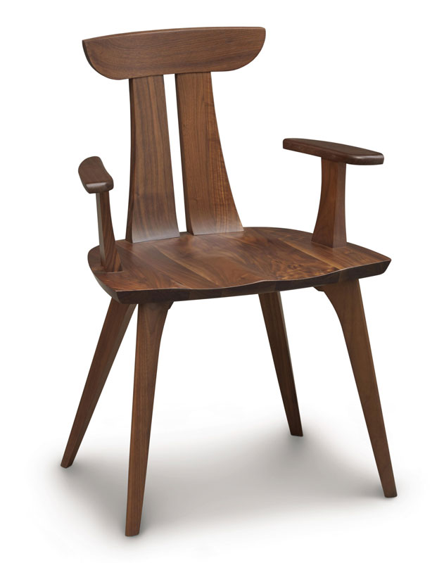 Copeland Estelle Arm Chair in Walnut