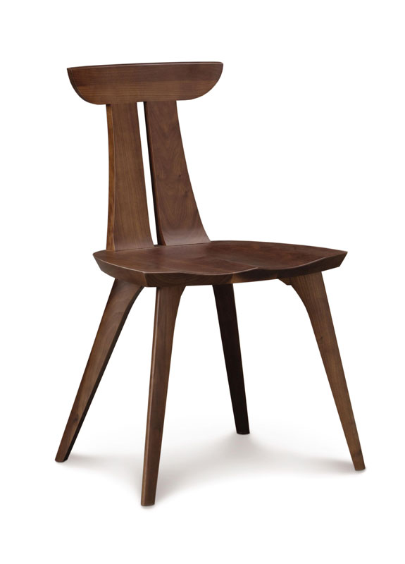 Copeland Estelle Side Chair in Walnut