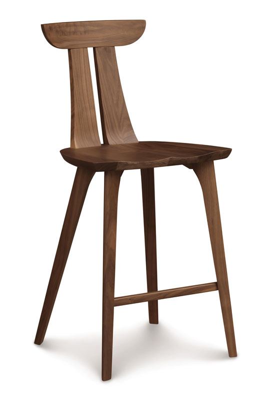 Copeland Estelle Counter Stool in Walnut