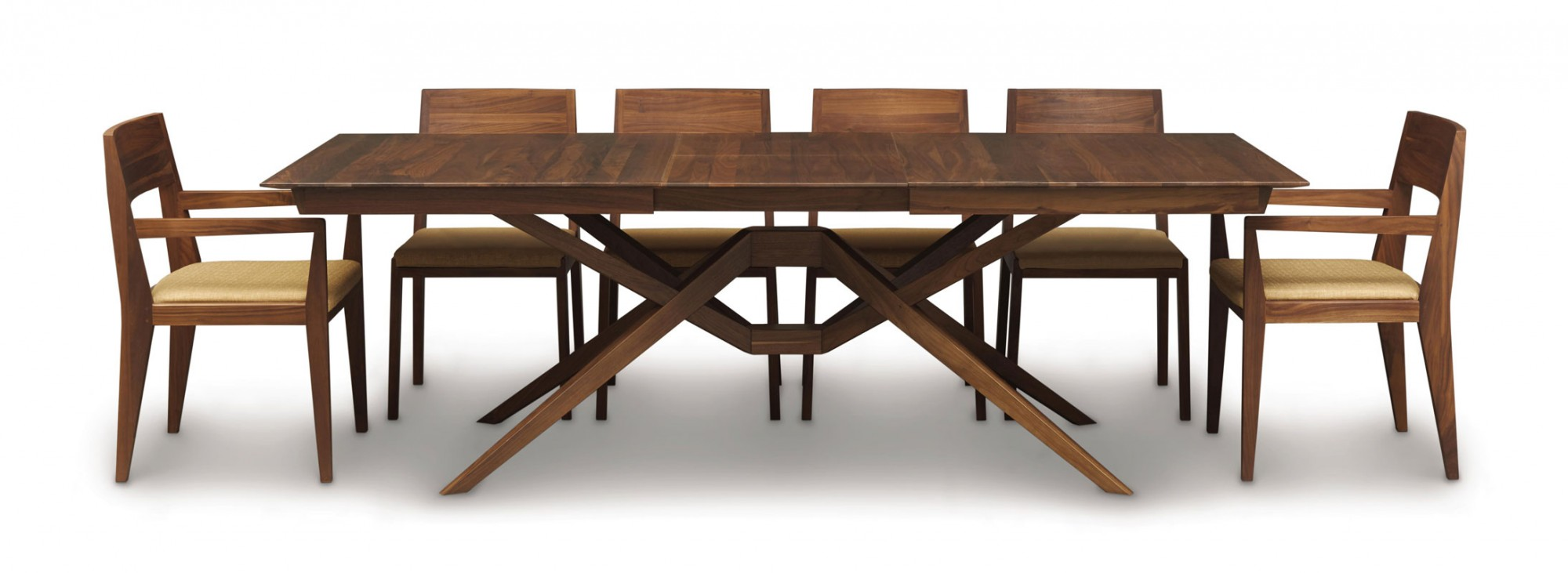Copeland exeter extension table ohio hardwood furniture