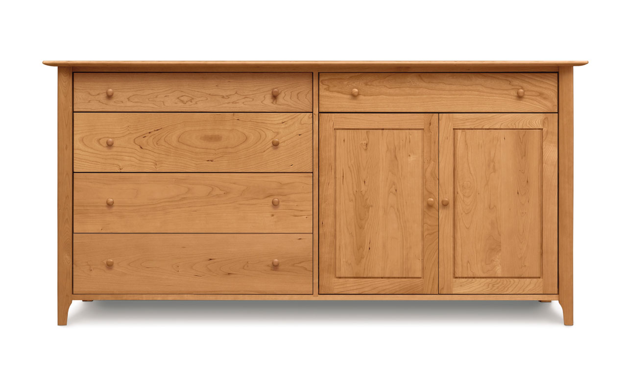 Copeland Sarah 4 Drawers on Left, 1 Drawer Over 2 Doors on Right Buffet