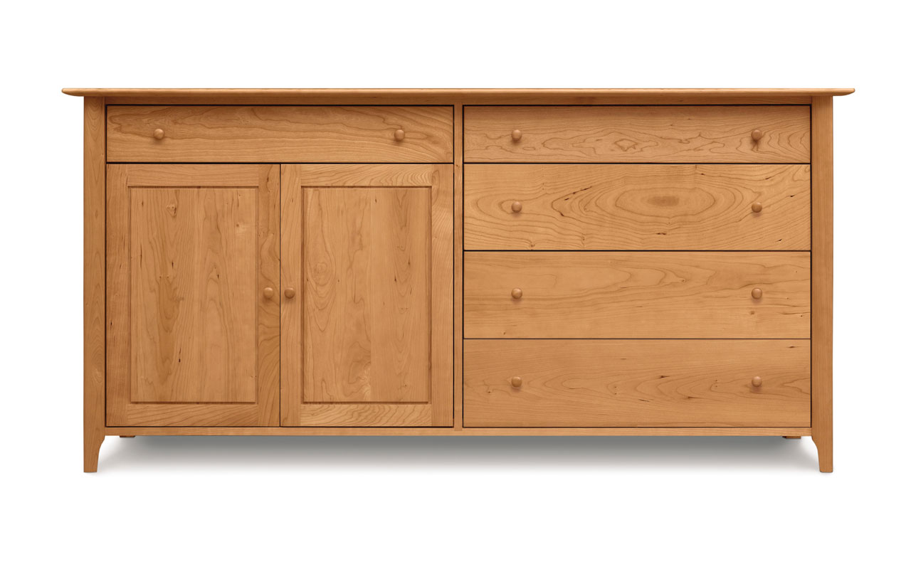 Copeland Sarah 4 Drawers on Right, 1 Drawer Over 2 Doors on Left Buffet