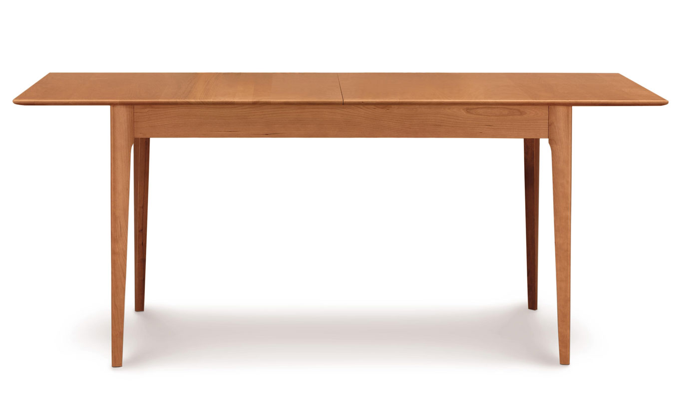 Copeland Sarah Four Leg Extension Table in Cherry