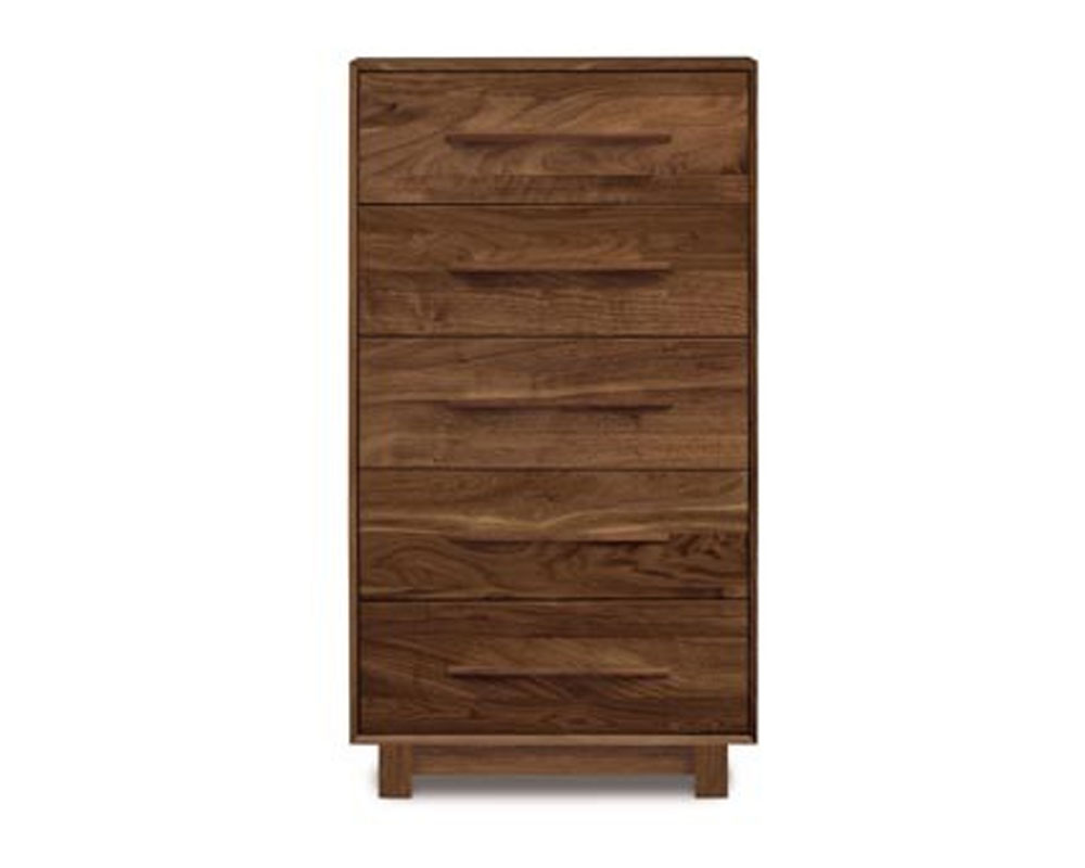 Copeland Sloane 5 Drawer Narrow in Walnut