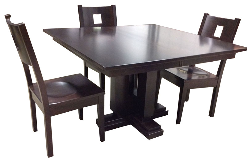 Boca Single Pedestal Table