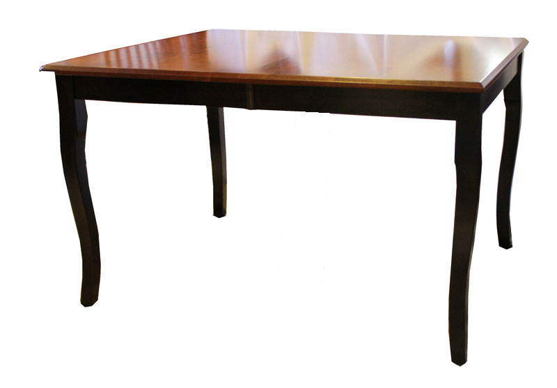 Shaker Style Plymouth Table with French Country Leg