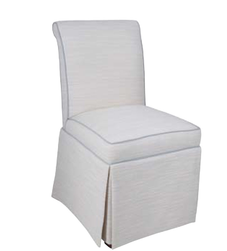 1562 Kick Pleat Side Chair