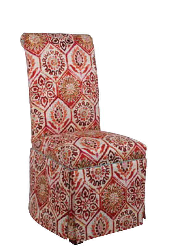 1583 Scroll Back Chair