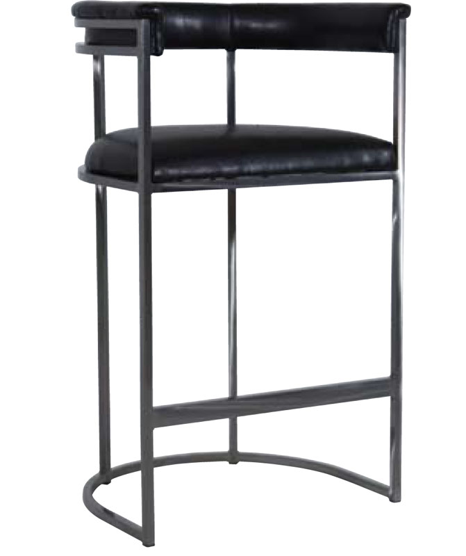 3005 Metal Barstool in a Steel Finish