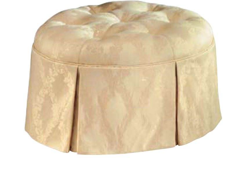 565 Tufted Cocktail Hassock