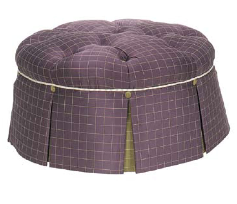 580 Tufted Cocktail Hassock