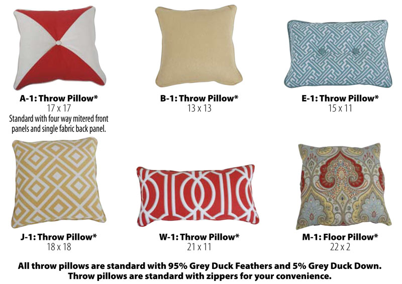 Cox Manufacturing Throw Pillows