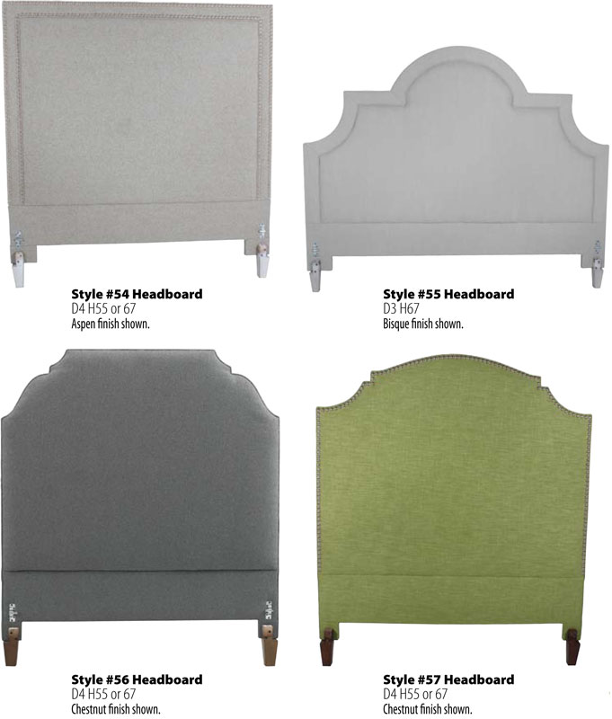 Styles Of Headboards 1266 vanity chair - ohio hardwood furniture