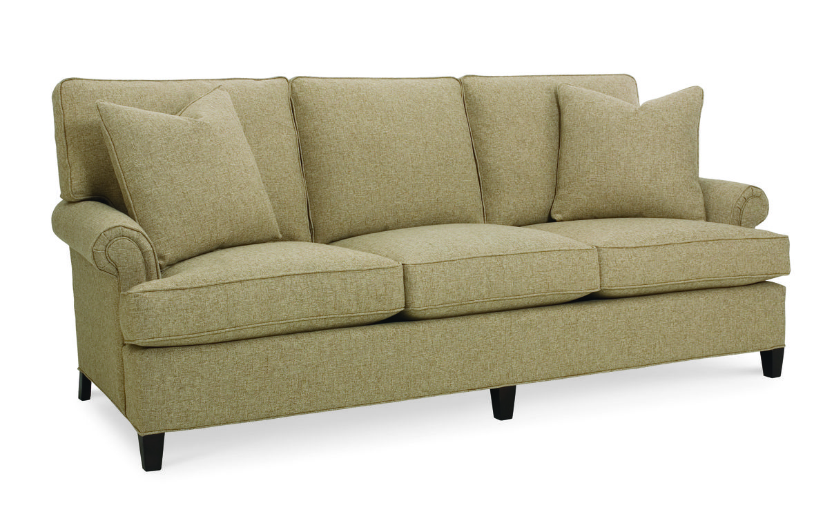 cr laine sofa. CR Laine 1360 Patterson Sofa Shown In Paxton Toast Fabric With A Java Finish. Cr