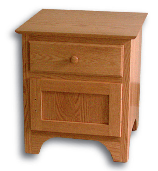 Shaker 1 Drawer 1 Door Nightstand