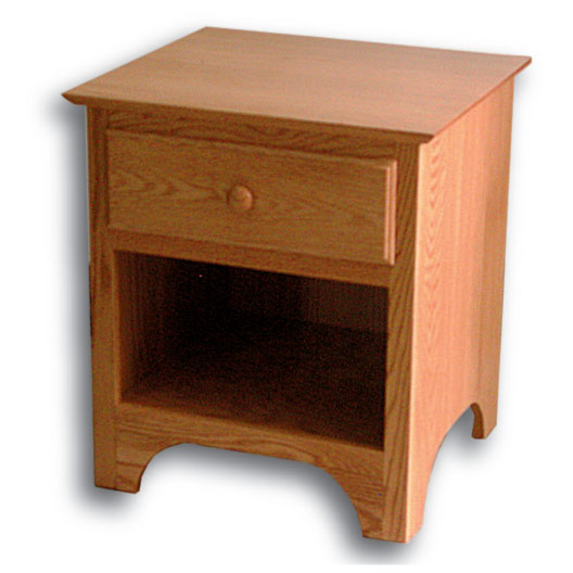 Shaker 1 Drawer Nightstand