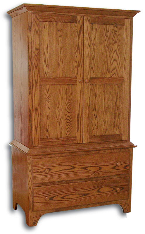Shaker 2 Piece Armoire