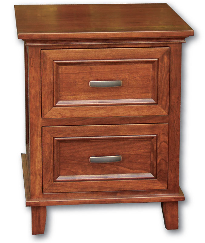 Brooklyn 2-Drawer Nightstand