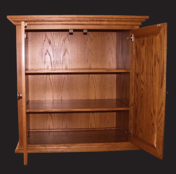 Inside of Armoire