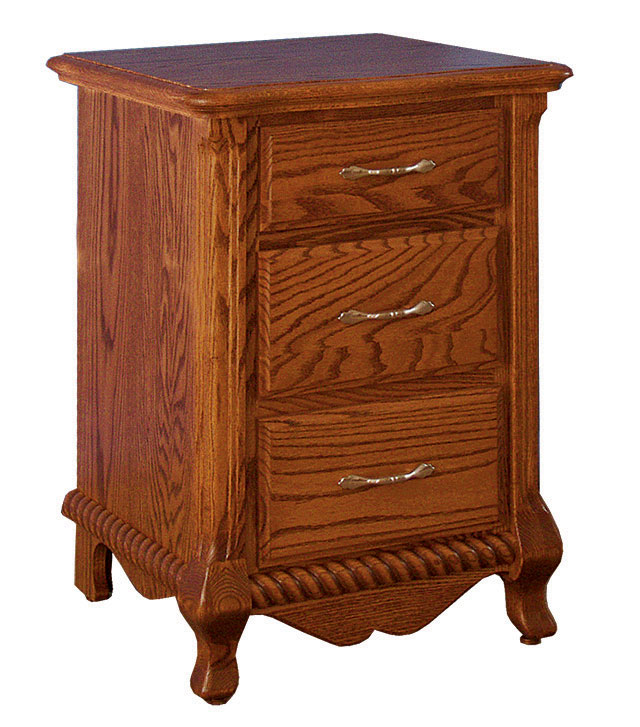 Classic Narrow 3- Drawer Nightstand