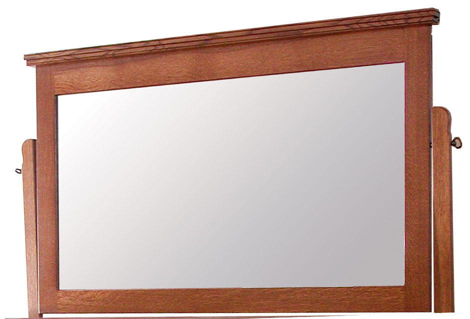 Country Mission Tall Dresser Mirror