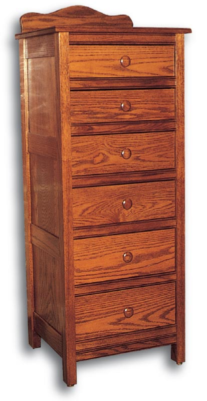 Country Mission 6 Drawer Lingerie Chest