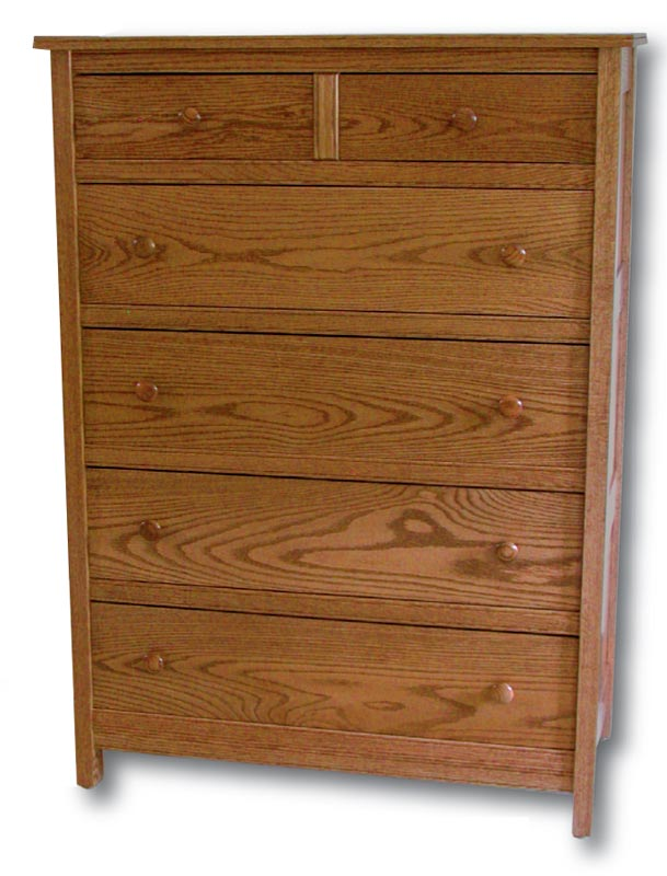 Country Mission 6 Drawer Chest