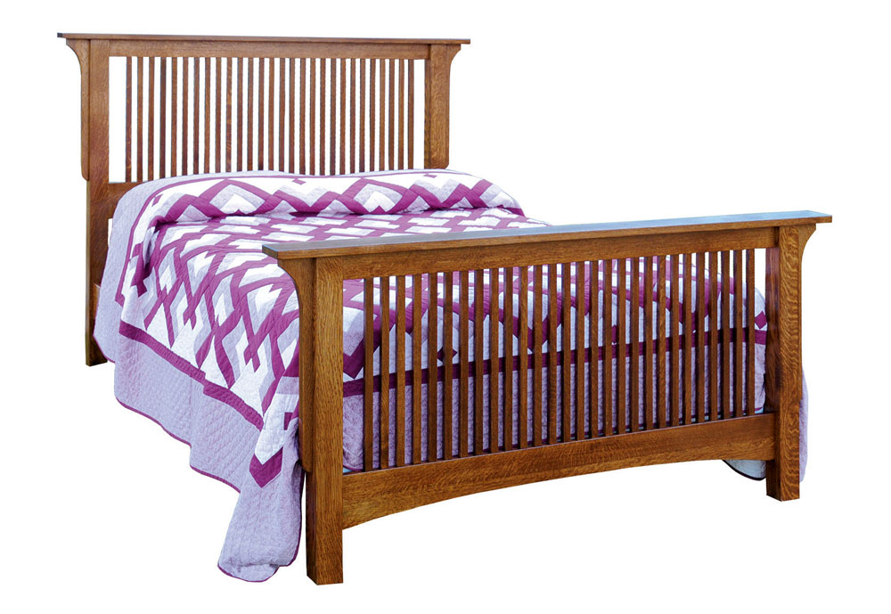 802 Empire Mission Spindle Bed